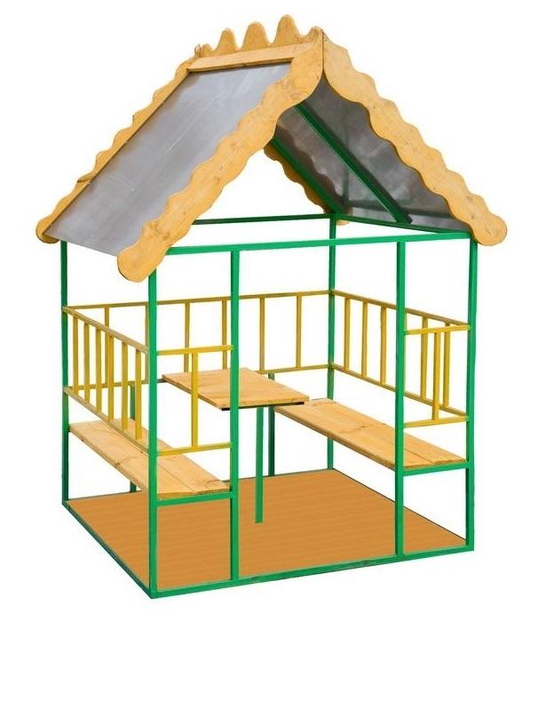 Детские домики для детского сада своими руками