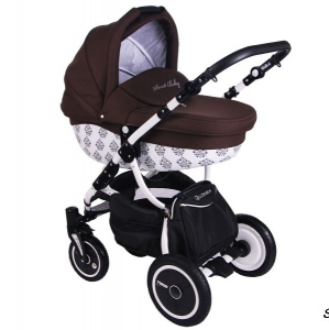 Коляска 2 в 1 Speedy Sweet Baby (узоры) SB ll-05