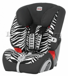 Автокресло BRITAX-ROMER Evolva 1-2-3 plus Smart Zebra Highline 9-36 кг.