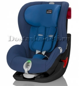 Детское автокресло King II LS Black Series Ocean Blue Trendline 9-18 кг.