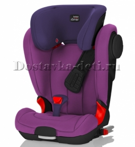 Детское автокресло Kidfix II XP SICT Black Series Mineral Purple Trendline 15-36 кг.