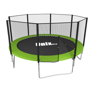 Батут UNIX line Simple 12 ft Color,green (outside)